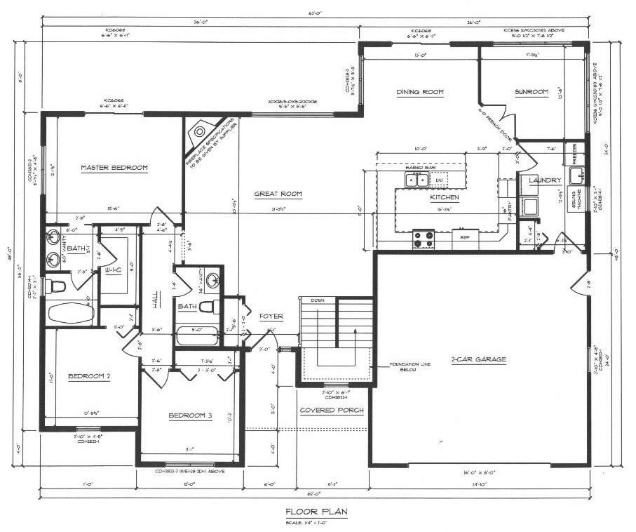 Hartje lumber drafting for Floor plan drafting services